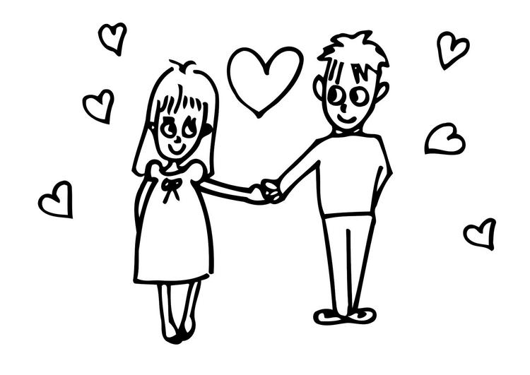 romantic coloring pages - photo #35